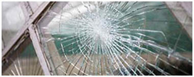 Market Deeping Smashed Glass